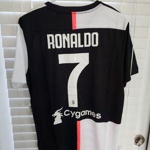 Adidas Juventus Ronaldo Soccer jersey #7 Jeep